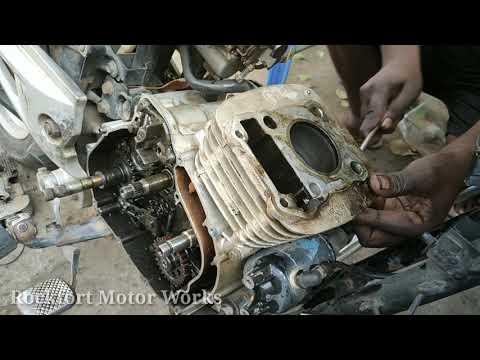Bajaj Pulsar 150cc  2007 Model Engine Dismantle / Rockfort Motor Works