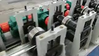 Shape Machine Type C/Z/U Light Steel Keel Galvanized Steel C Type Light Steel Keel Roll Forming Mach youtube video