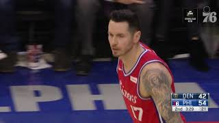 JJ Redick | Highlights vs Denver Nuggets (2.8.19)