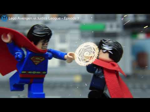 LEGO Avengers Vs Justice League: Superman Vs Dr.Strange | Xeay Brick Films Stop Motion