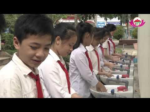 Ra mắt công trình măng non Măng non tại Trường THCS Đồng Hợp