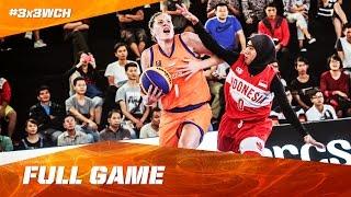 Video Netherlands vs Indonesia - Full Game Women - 2016 FIBA 3x3 World Championships MP3, 3GP, MP4, WEBM, AVI, FLV Mei 2017