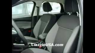 Clazzio Ford Focus 2012+ Leather Seat Covers