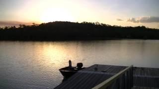 Lake Bennett Australia  city pictures gallery : Darwin Australia - Lake Bennett - закат на озере Беннетт Австралия