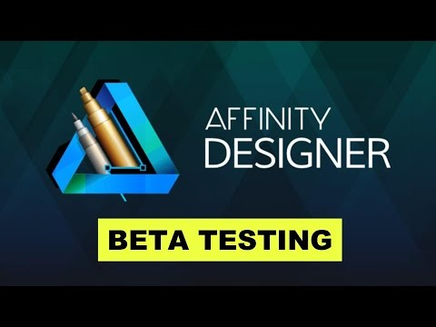 Beta Testing Affinity Designer for Windows: Logo Design