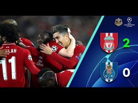 Liverpool FC 2-0 FC Porto, Champions League Q-Final 1st Leg April 9th 2019.