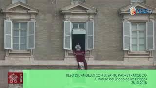 REZO DEL ÁNGELUS  PAPA FRANCISCO 28-10-2018