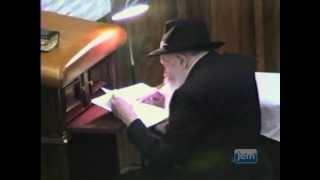 """תשעה באב במחיצת הרבי מליובאַוויטש זצ""""ל"""