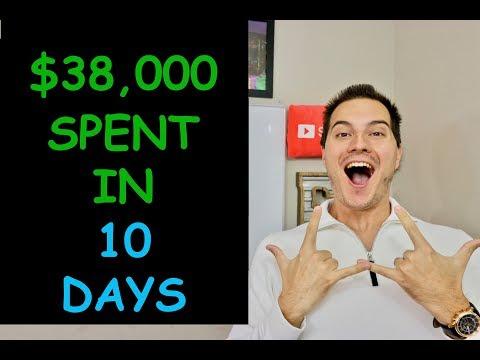 I SPENT $38,000 ON STOCKS IN LAST 10 DAYS