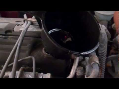 How to change the oil in a Pontiac Sunfire