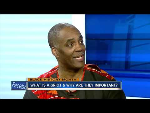 What is a griot and why are they important?