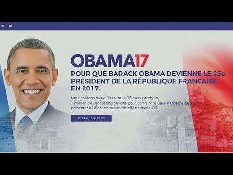 Γαλλία: Ομπάμα για Πρόεδρος!