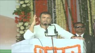 पुलवाना के बाद राहुल गाँधी ने पीएम मोदी की धज्जियां उड़ा के फेंक दी ! Rahul speech in Chhattisgarh