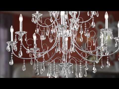 Video for Jules Chrome Six-Light Chandelier