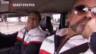 George Michael in James Corden's Carpool Karaoke for Comic Relief