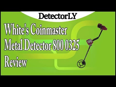 White's Coinmaster Metal Detector 800 0325 Review
