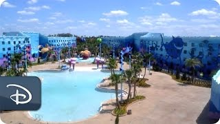 Time-Lapse: Finding Nemo | Disney's Art of Animation Resort