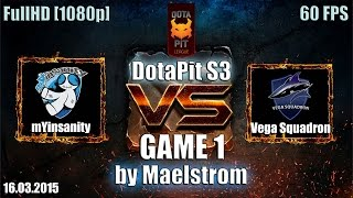 mYi vs Vega, game 1