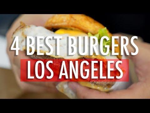 MUKBANG/FOOD REVIEW: 4 TOP L.A. BURGERS!