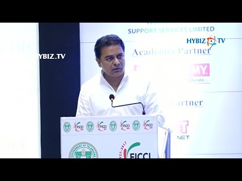 IT Minister KTR about I-Telangana 2017