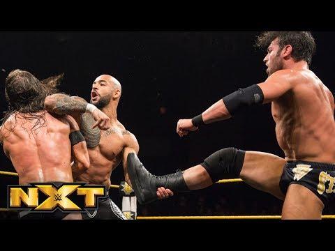 Ricochet & Moustache Mountain vs. Undisputed ERA: WWE NXT, June 27, 2018 (видео)