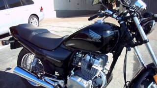 4. 2008 Honda Nighthawk 250 walk around