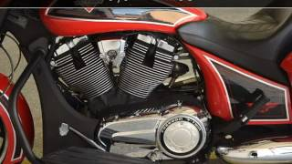 """9. 2014 Victory Ness Cross Countryâ""""¢ Limited Edition  Used Motorcycles - McKinney,TX - 2016-11-12"""
