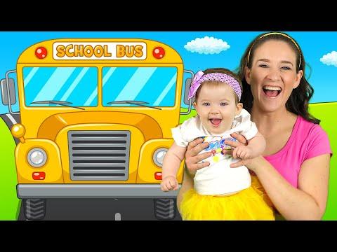 Wheels on the Bus - Nursery Rhymes and Kids Songs - Thời lượng: 3 phút, 52 giây.