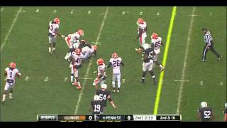 Silas Redd vs Illinois (2011)