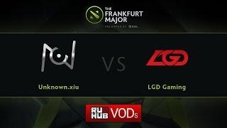 LGD.cn vs unknown.xiu, game 2