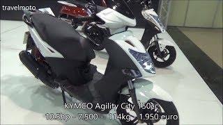 6. The KYMCO Agility City 150cc scooter (2017)