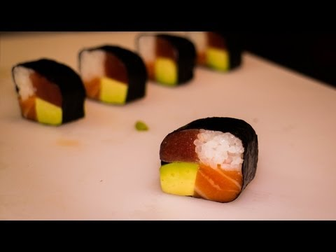 Japanese Recipe: How to Make Four Season Sushi Rolls – Maki Sushi Rolls