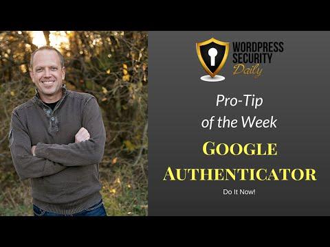 PTW 017   Google Authenticator