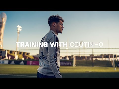 Training with Philippe Coutinho | FC Bayern