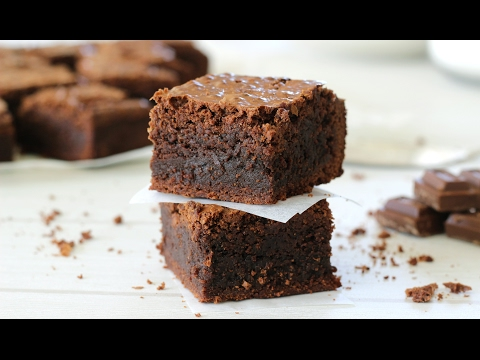 How to make Brownies   Fudgy Brownie Recipe