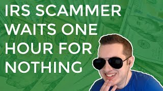 Video IRS Scammer Waits 1 Hour For Nothing & Gets Mad MP3, 3GP, MP4, WEBM, AVI, FLV Juli 2018