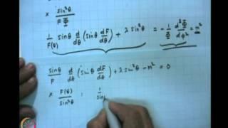 Mod-05 Lec-17 The Angular Momentum Problem