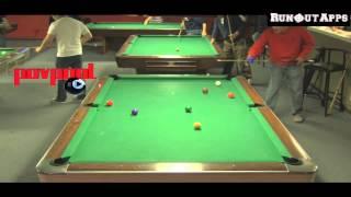 Manila Billiards 9 Ball - Mark Whitehead Vs Oscar / Dec 2013