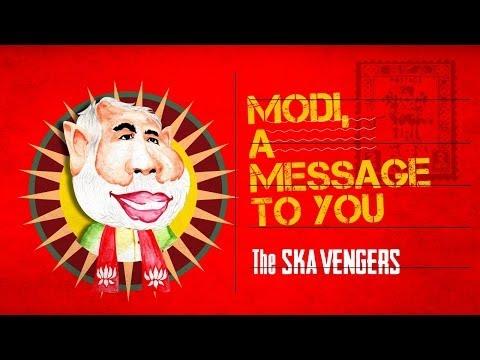 The Ska Vengers – Modi, A Message to You
