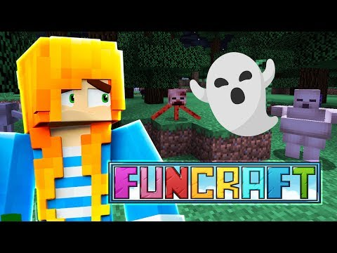 THIS PLACE IS HAUNTED! | Minecraft: FunCraft - Ep.06 | Marielitai Gaming
