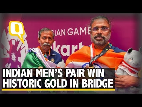 Asian Games: Indian Men's Pair Win Historic Gold Medal in Bridge | The Quint