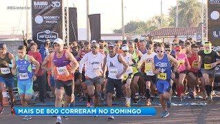 Mais de 700 atletas participam da tradicional corrida de 10 milhas em Bauru