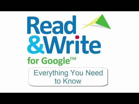 Read & Write for Google.