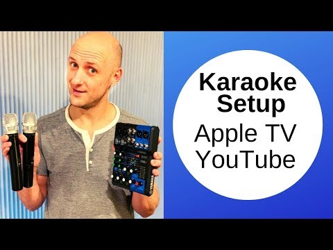 Karaoke Setup Using Apple TV YouTube Unlimited