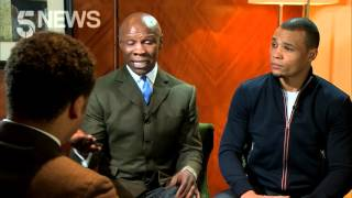Chris Eubank Snr and Jnr on trying not to damage Nick Blackwell