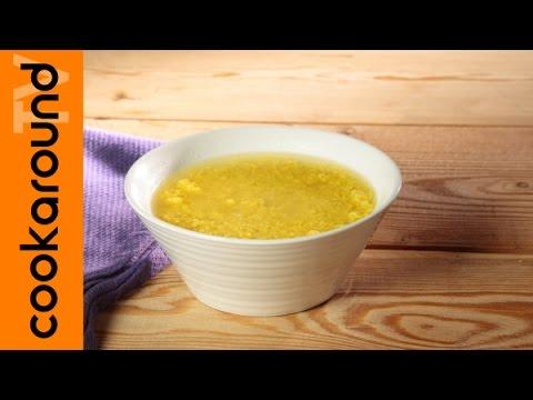 minestra del paradiso o stracciatella - ricetta