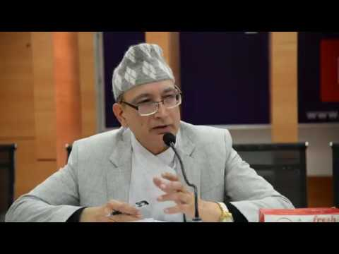 (Shankar Prasad Adhikari, Ministry of Finance Secretarie....11 min)