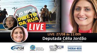 TMDR_Live com Deputada Estadual Célia Jordão