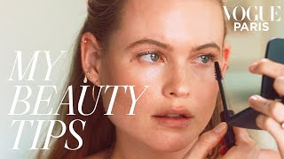 Download Video Behati Prinsloo's Guide to Fresh-Faced Everyday Makeup | My Beauty Tips MP3 3GP MP4