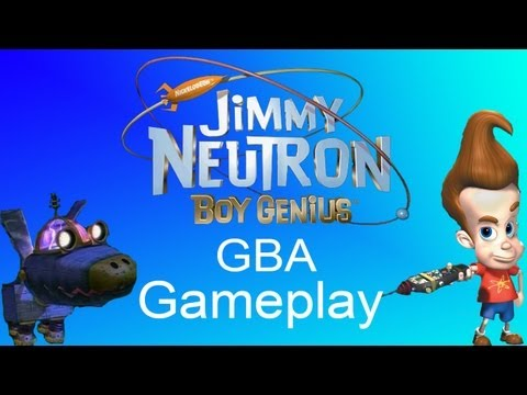 Jimmy Neutron GBA Gameplay.